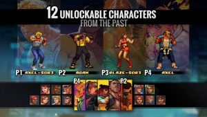 Streets of Rage 4 Features 12 Unlockable Retro Characters, Streets of Rage 1 & 2 Music