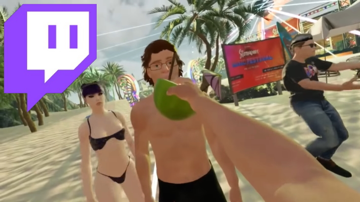 Twitch VR Chat Simp