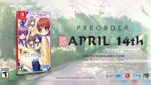 Limited Run Games Announce Clannad Nintendo Switch Physical Edition, Pre-Orders Begin April 14