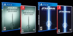 Limited Run Announce Physical Star Wars Jedi Knight: Jedi Academy and Star Wars Jedi Knight II: Jedi Outcast for PC, Switch, and PS4