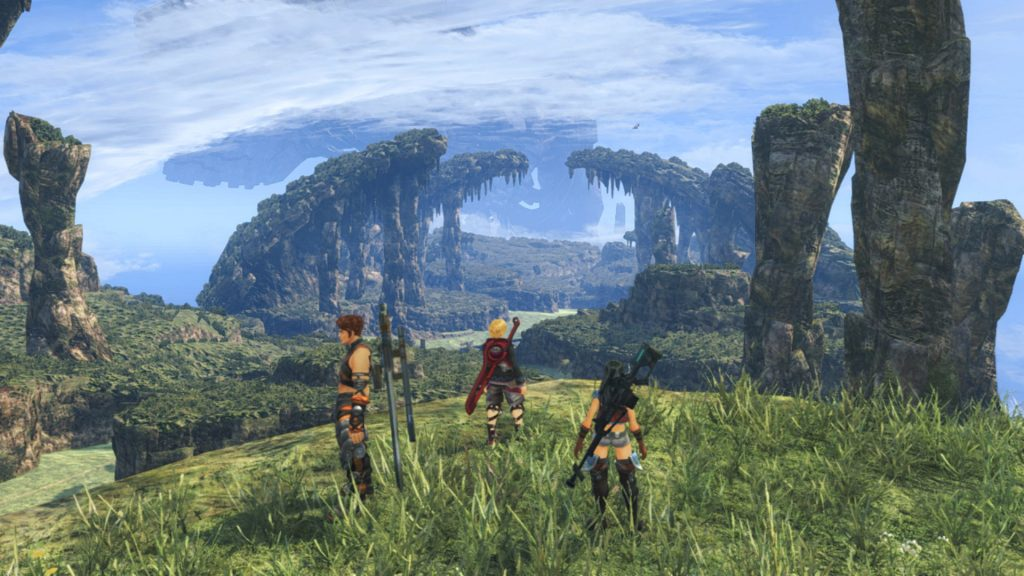 Xenoblade Chronicles: Definitive Edition.