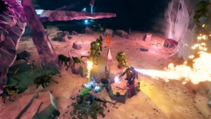 Deep Rock Galactic Leaves Early Access