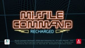 Missile Command: Recharged Heads to PC and Nintendo Switch