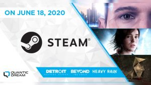 Detroit: Become Human, Beyond: Two Souls and Heavy Rain Head to Steam June 18, Demos Available Now