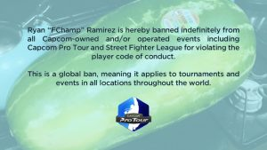 Filipino Champ Banned from all Capcom Fighting Game Tournaments Globally After Watermelon Lives Matter Tweet