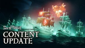 Sea of Thieves New Haunted Shores Content Update Features Ghost Fleets, Ashen Expeditions