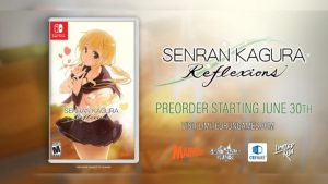 Senran Kagura Reflexions Physical Version Available for Pre-Order June 30