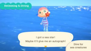 Animal Crossing: New Horizons Free Summer Update Wave 1 Adds Swimming, Diving, and Sea Creatures