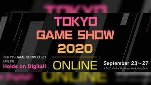 Tokyo Game Show 2020 Online to Run September 24 to 27