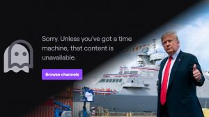 Trump Indefinitely Banned from Twitch Due to Capitol Building Invasion, Twitch Updating Hateful Conduct Policies