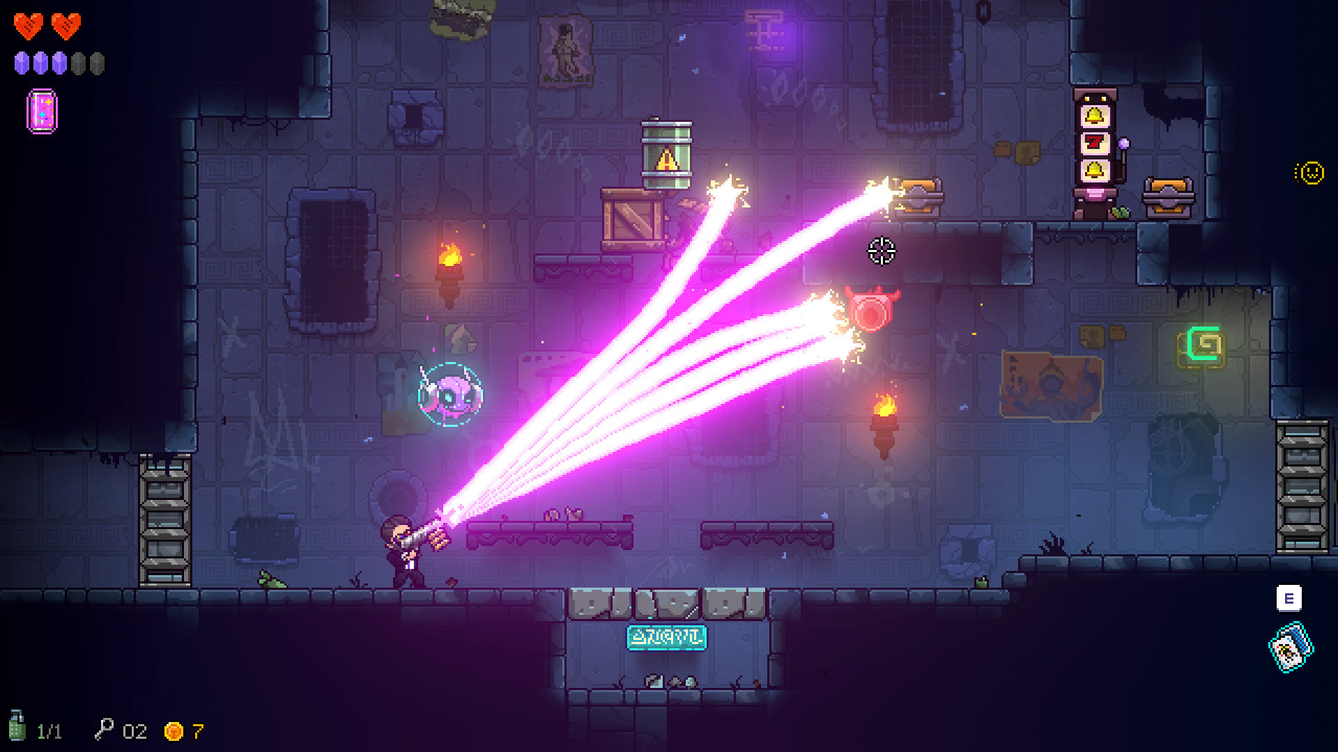 Neon Abyss Gets Free Demo On Nintendo Switch Niche Gamer