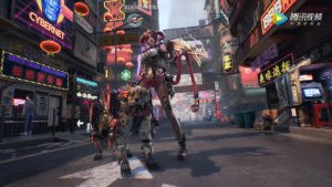 """Tencent Announces """"Globally Marketed"""" Open-World Cyberpunk FPS """"Syn"""""""