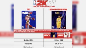 NBA 2K21 Reveals First Next Gen Console Game RRP: $69.99