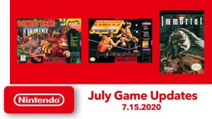Nintendo Switch Online Adds New NES and SNES Games on July 15 – Donkey Kong Country, Natsume Championship Wrestling, and The Immortal