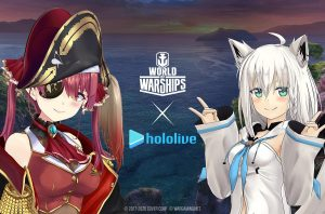 Hololive Commander Voice Pack Bundles Available For World of Warships