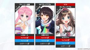 Kizuna AI Joins Neptunia Virtual Stars as Playable DLC Character