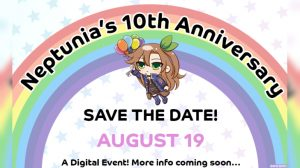 Hyperdimension Neptunia Series 10th Anniversary Digital Event Premieres August 19