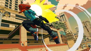 Lethal League Blaze Developer Reptile Games Announce Jet Set Radio-Inspired Bomb Rush Cyberfunk