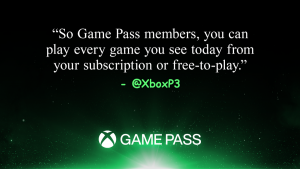 All Games Shown During Xbox Games Showcase to be Available Through Xbox Game Pass