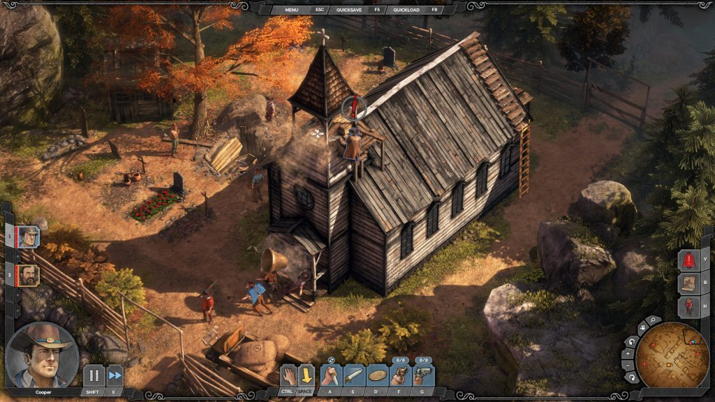 Desperados Iii Gets Free Baron S Challenges Maps Niche Gamer