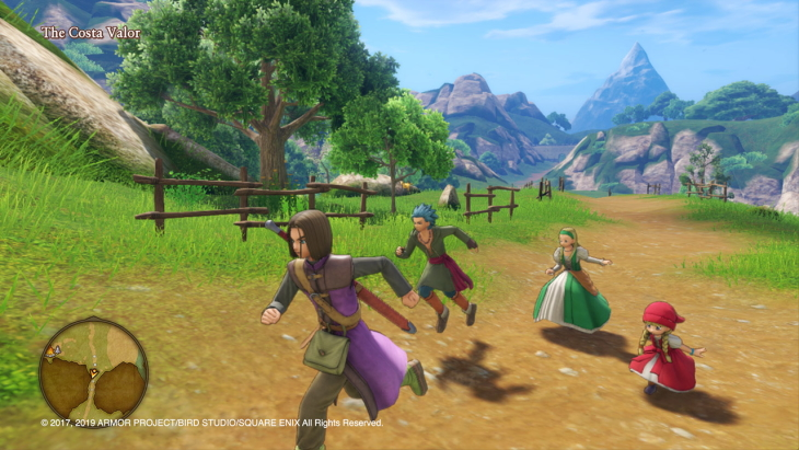 Dragon Quest XI S:Echoes of an Elusive Age – Definitive Edition