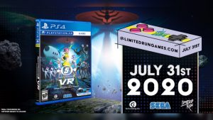 Limited Run Games Physical Space Channel 5 VR: Kinda Funky News Flash! Pre-Orders Begin July 31