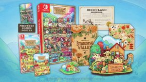 Stardew Valley PC and Switch Physical Versions and Collector's Edition Available for Pre-Order Now, Ships November 9