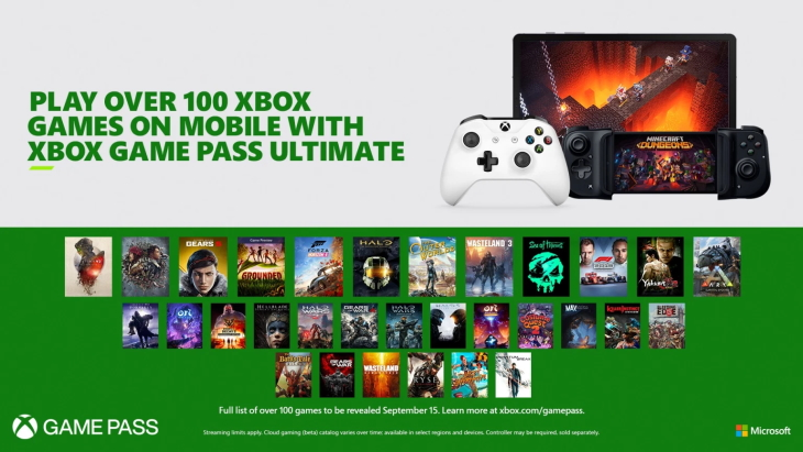 Project xCloud Xbox Game Pass Ultimate