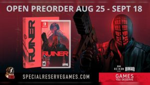 Ruiner Physical Switch Preorders Begin August 25 via Special Reserve Games