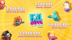 Fall Guys: Ultimate Knockout Sells 2 Million Copies on Steam in One Week