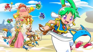 Wonder Boy – Asha in Monster World Announced, Launches Early 2021 for Nintendo Switch and PlayStation 4