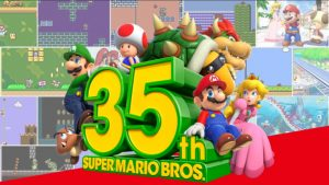 Super Mario Bros. 35th Anniversary Events Announced; Merchandise, In-Game Events for Smash Bros., Animal Crossing, and More!