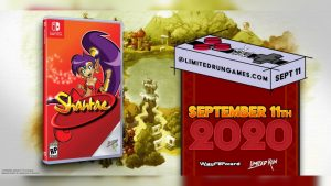 Physical Shantae for Nintendo Switch and Game Boy Color Available for Preorder September 11