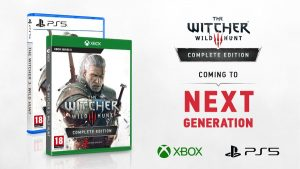 The Witcher 3: Wild Hunt Complete Edition Announced for Xbox Series X and PlayStation 5; Free Upgrade from Current Gen