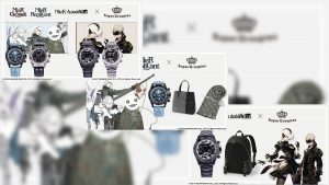 SuperGroupies Announce NieR 10th Anniversary Watches, Bags and Stoles