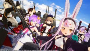 Azur Lane: Crosswave Heads West on Switch in 2021
