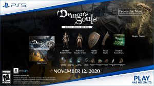 Demon's Souls Remake Digital Deluxe Edition and Pre-Order Bonuses Revealed