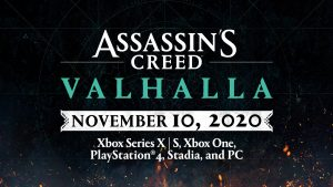 Assassin's Creed Valhalla Release Date Pushed Forward to November 10