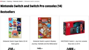 Nintendo Switch Pro Mentioned on Polish Retail Website