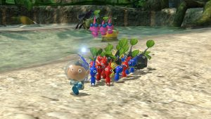Pikmin 3 Deluxe Trailer Introduces the Various Pikmin