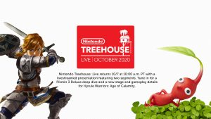 Nintendo Treehouse Livestream Set for October 7, Will Focus on Pikmin 3 Deluxe and Hyrule Warriors: Age of Calamity