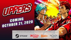 Uppers Finally Comes West for PC on October 21