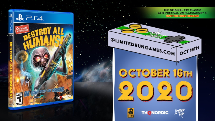 Destroy All Humans! Limited Run Games