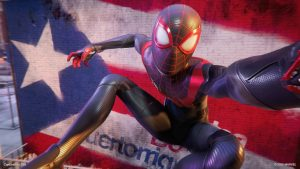 UPDATE: Spider-Man: Miles Morales First Boss Fight Gameplay, Costume Screenshots, and Spider-Cat