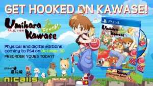 Umihara Kawase Fresh! PS4 Port Western Release Set for October 30