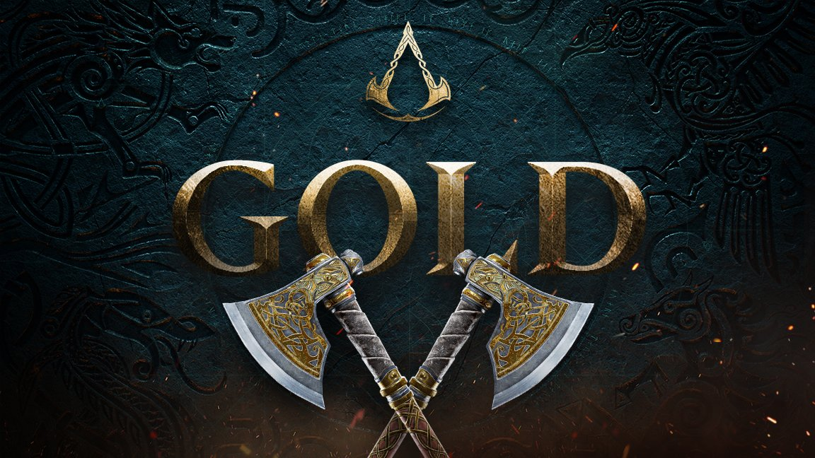Assassin's Creed ValhallaGoes Gold