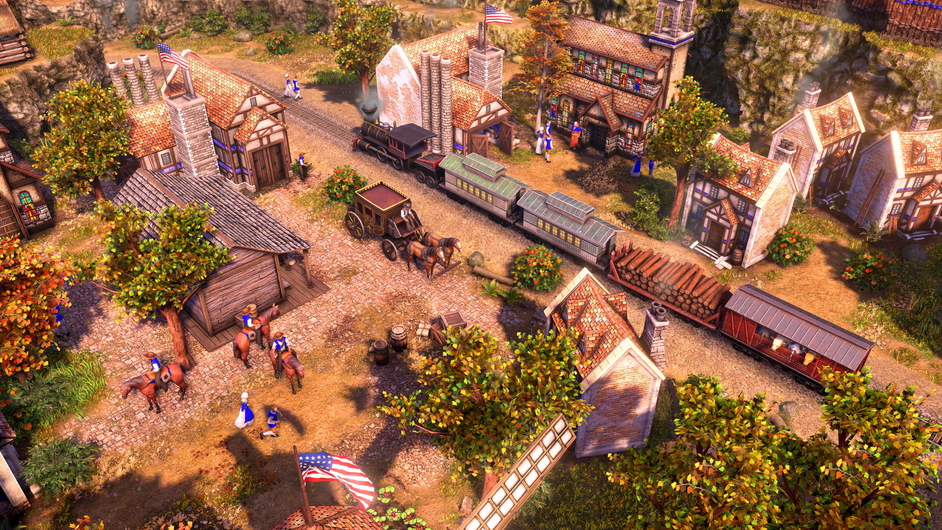 age of empires iii: definitive edition native americans