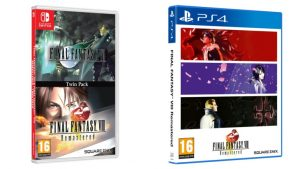 Final Fantasy VII and Final Fantasy VIII Remastered Twin Pack Launch Physically on Switch December 4, FFVIII Remastered on PS4