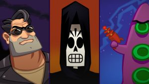 Day of the Tentacle Remastered, Full Throttle Remastered, and Grim Fandango Remastered Head to Xbox One and Xbox Game Pass