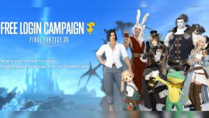 Final Fantasy XIV Launch 96 hour Free Log-In Campaign for Returning Players